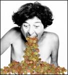 Imagen: Esther Ferrer. Eurorretrato, de la serie El libro de las Cabezas, 2002.