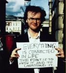 'Everything is connected in life…' 1992-3 by Gillian Wearing OBE born 1963