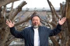 Imagen de Ai Weiwei en la Royal Academy de Londres.