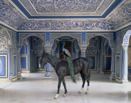 Karen Knorr. Sikanders Entrance, Chandra Mahal, Jaipur City Palace, Jaipur, 2013