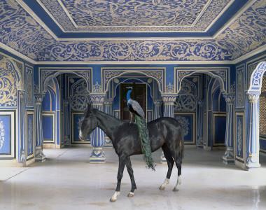Karen Knorr - Sikanders Entrance, Chandra Mahal, Jaipur City Palace, Jaipur, 2013