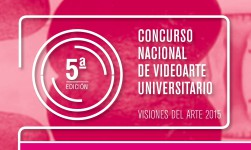 Concurso de videoarte universitario. Visiones del arte
