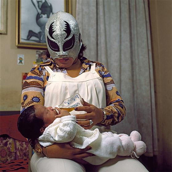 Lucha libre: retratos de familia