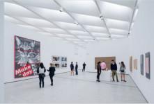 Imagen de una de las salas del museo The Broad. Fotografía de Iwan Baan.