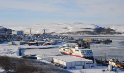 Kirkenes Harbor. Mathis Herbert, 2009.