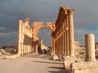 Ruinas de Palmira en Siria.