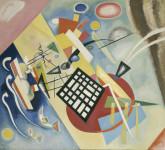 Vassily Kandinsky. Schwarzer Raster, 1922.