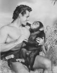 Fotograma de la película Tarzán de los monos, 1932.
