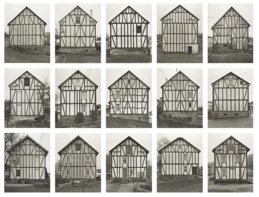 Bernd and Hilla Becher. Houses, 1920.