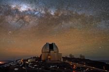 Imagen de La Silla, del European Southern Observatory (ESO) en Chile.