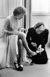 Edith Piaf y Marlene Dietrich por Nick de Margoli para París Match.