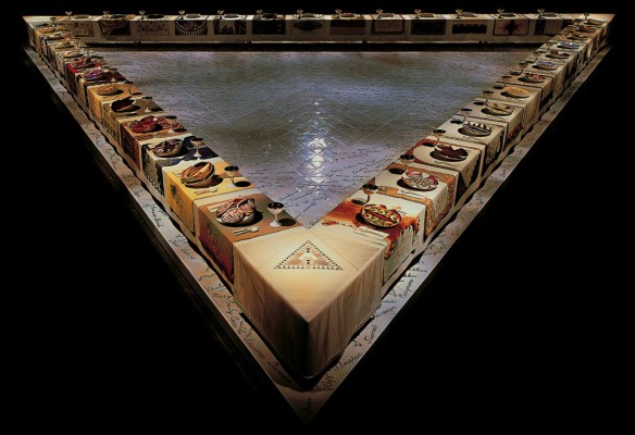 Judy Chicago. Dinner Party, 1979.