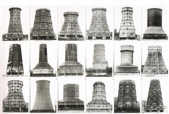 Bernd and Hilla Becher. Towers, 1955.