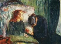Edvard Munch. La niña enferma, 1907.