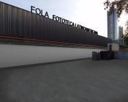Fachada de la Fototeca Latinoamericana.