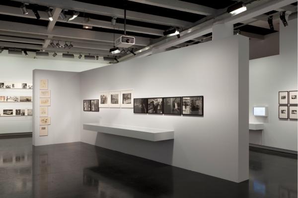 Vista interior de la Fototeca Latinoamericana.
