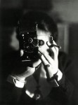 Germaine Krull. Self-portrait with Icarette, circa 1928.