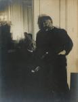 Edgar Degas. Stéphane Mallarmé y Auguste Renoir, 1895.