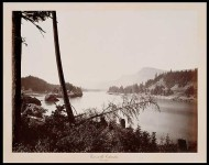 Carleton E. Watkins. View on the Columbia, Cascades, 1867.