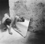 Francesca Woodman.Self-deceit #1. Rome, 1977-1978.