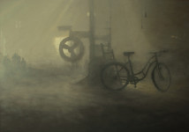 Juan José Vicente La vieja bici premio pintura 2014