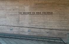 Luis Camnitzer. Instalación en el Museo de Derechos Humanos de Santiago, 2013