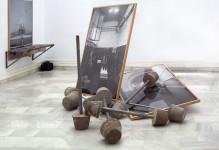 Obra de Paula Rubio.Instalación,2011