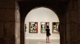 Interior del Museo Picasso de Barcelona.