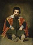 Diego de Velázquez. Bufón don Sebastián de Morra,1645