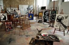 Estudio original de Joan Miró
