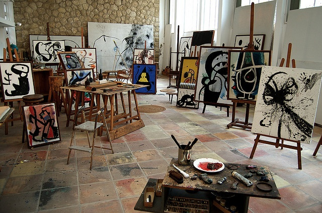 Recrean el estudio de Joan Miró