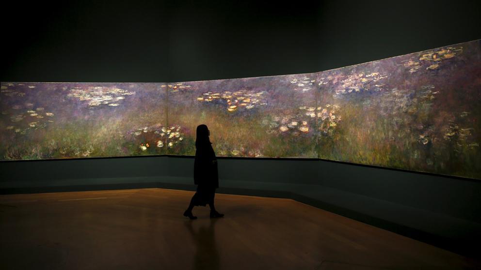 En el jardín de Monet