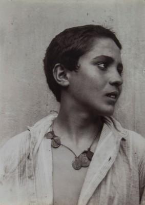 Wilhelm von Gloeden. A boy