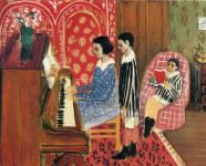 Matisse. La lección de piano, 1923