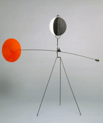 Alexander Calder.Red and Yellow Vane, 1934