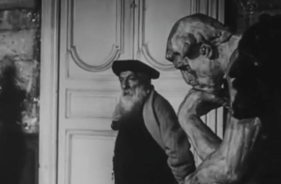 Auguste Rodin en el taller