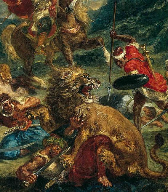 El viaje con Delacroix