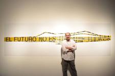 El artista Eugenio Ampudia