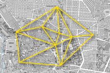 Mapa de intervenciones en Madrid.