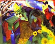 Wassily Kandinsky. Murnau Garden