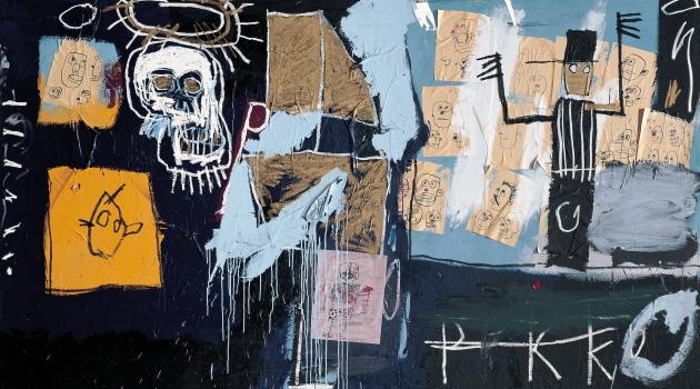 Micel Baquiat. Slave auction, 1982.