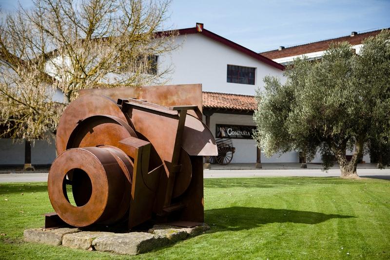 Anthony Caro en La Rioja