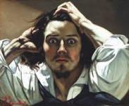 Gustave Courbet. Autoretrato