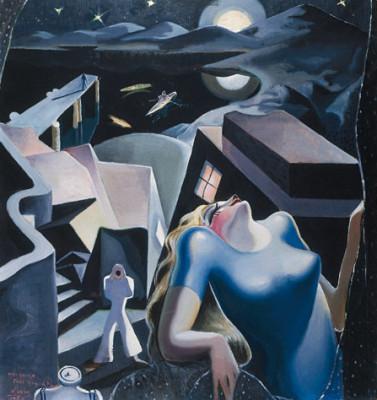 Wilfredo Lam. Composición I, 1930.