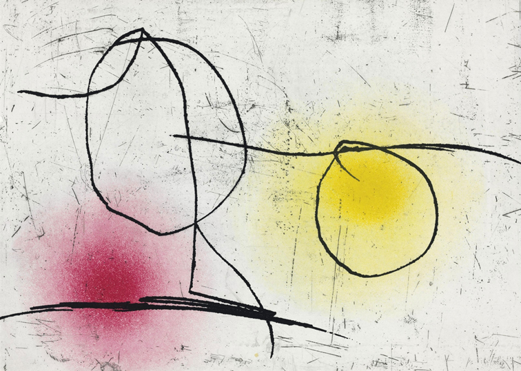 La huellas de Miró
