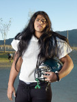 Catherine Opie. Serie jugadores fútbol americano.