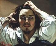 Gustave Courbet. Autoretrato.