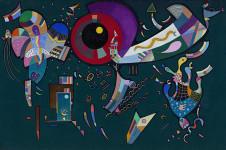 Vasily Kandinsky. En torno al círculo, 1940.
