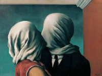 René Magritte. The Lovers.