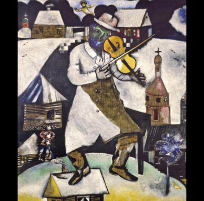 Marc Chagall. El Violinista, 1913